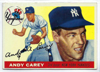 1955 Topps Baseball 20 Andy Carey