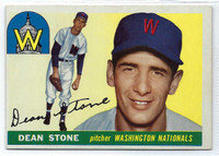 1955 Topps Baseball 60 Dean Stone