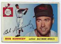 1955 Topps Baseball 48 Bob Kennedy