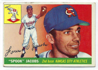 1955 Topps Baseball 61 Spook Jacobs