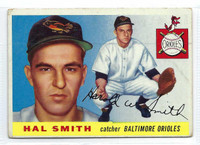 1955 Topps Baseball 8 Hal W. Smith