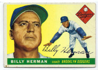 1955 Topps Baseball 19 Billy Herman