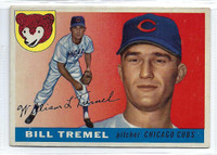 1955 Topps Baseball 52 Bill Tremel