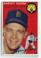 1954 Topps Baseball 25 Harvey Kuenn ROOKIE