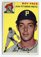 1954 Topps Baseball 87 Elroy Face