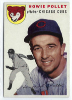 1954 Topps Baseball 89 Howie Pollet