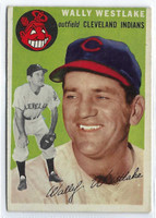 1954 Topps Baseball 92 Wally Westlake