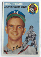 1954 Topps Baseball 181 Mel Roach