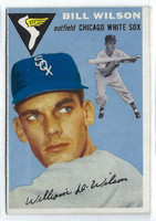 1954 Topps Baseball 222 Bill Wilson