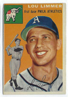 1954 Topps Baseball 232 Lou Limmer