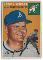 1954 Topps Baseball 244 Leroy Wheat