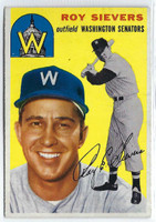 1954 Topps Baseball 245 Roy Sievers
