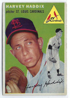 1954 Topps Baseball 9 Harvey Haddix