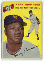1954 Topps Baseball 64 Hank Thompson Tough Series