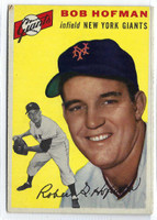 1954 Topps Baseball 99 Bob Hofman