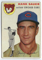 1954 Topps Baseball 4 Hank Sauer