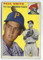 1954 Topps Baseball 11 Paul Smith