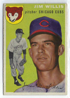 1954 Topps Baseball 67 Jim Willis Tough Series