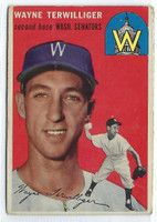 1954 Topps Baseball 73 Wayne Terwilliger Tough Series