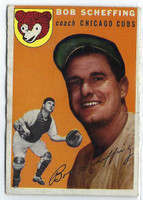 1954 Topps Baseball 76 Bob Scheffing