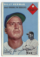 1954 Topps Baseball 86 Billy Herman