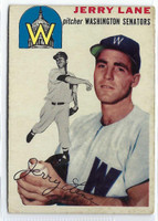 1954 Topps Baseball 97 Jerry Lane