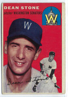 1954 Topps Baseball 114 Dean Stone