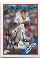 Jamie Moyer AUTOGRAPH 1988 Topps #36 Cubs   [SKU:MoyeJ10490_T88BBrs]