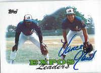 Vance Law AUTOGRAPH 1988 Topps Expos Leaders   [SKU:LawV6760_T88BBC1rs]