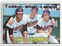 1967 Topps Baseball 1 Champs