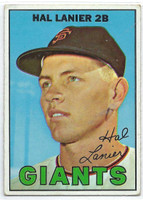 1967 Topps Baseball 4 Hal Lanier