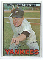 1967 Topps Baseball 5 Whitey Ford
