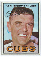 1967 Topps Baseball 39 Curt Simmons
