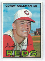 1967 Topps Baseball 61 Gordy Coleman