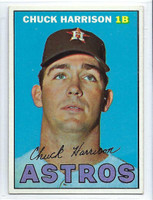 1967 Topps Baseball 8 Chuck Harrison