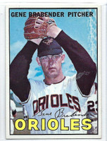 1967 Topps Baseball 22 Gene Brabender