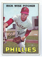 1967 Topps Baseball 37 Rick Wise