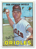 1967 Topps Baseball 38 Bob Johnson