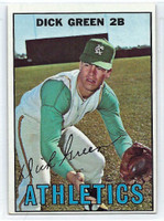 1967 Topps Baseball 54 Dick Green