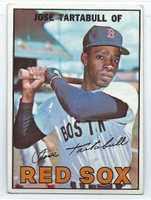 1967 Topps Baseball 56 Jose Tartabull