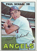 1967 Topps Baseball 58 b Paul Schaal