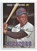 1967 Topps Baseball 64 Fred Valentine