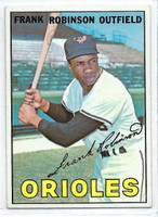 1967 Topps Baseball 100 Frank Robinson  [SKU:Y67_T67BB_100a_6exmrs]  Baltimore Orioles Excellent to Mint