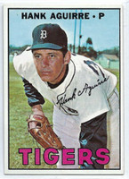 1967 Topps Baseball 263 Hank Aguirre  [SKU:Y67_T67BB_263a_6exmrs]  Detroit Tigers Excellent to Mint