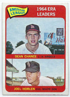 1965 Topps Baseball 7 AL ERA Leaders