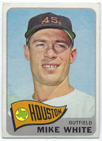 1965 Topps Baseball 31 Mike White