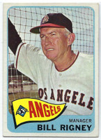 1965 Topps Baseball 66 Bill Rigney
