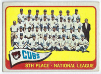 1965 Topps Baseball 91 Cubs Team