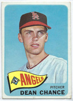 1965 Topps Baseball 140 Dean Chance