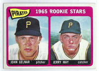 1965 Topps Baseball 143 Pirates Rookies  [SKU:Y65_T65BB_143a_5exrs]  Excellent